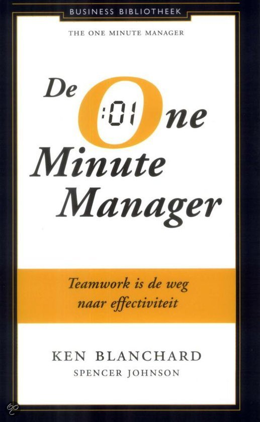leadership paper one minute manager If you are interested in becoming an empowered leader and a more effective  problem solver, this is a book you should be reading with pen and paper in hand.