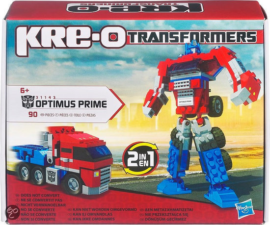 Kre-O Transformers Basic Optimus Prime