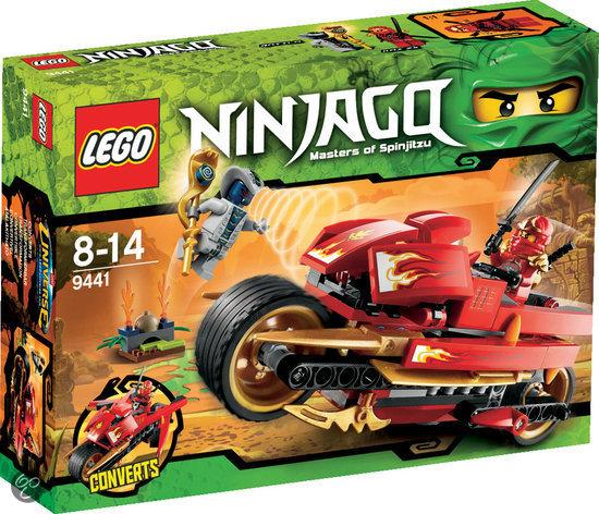 LEGO Ninjago Kai's Zwaardbike - 9441 in Boksheide