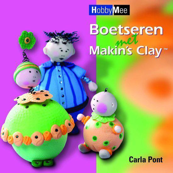 Cover van het boek 'Boetseren met Makin's Clay'