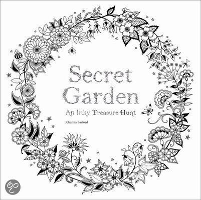 secret garden coloring pages completed operations   bol.com   Secret Garden, Johanna Basford   9781780671062 ...