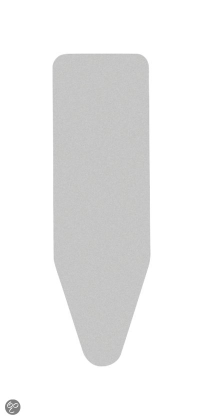 Brabantia Strijkplankovertrek - 135 x 45 cm - code D - 2 mm schuim - Metallic