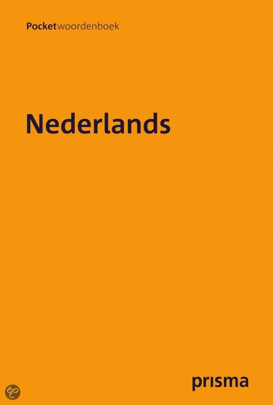 Prisma pocketwoordenboek  / Nederlands