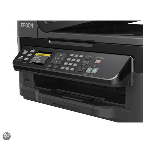 epson workforce wf 2540 all in one printer manual