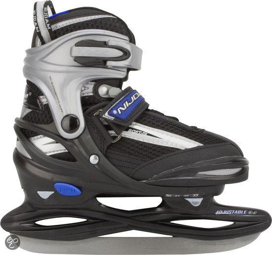 Nijdam Junior IJshockeyschaatsen Verstelbaar - Semi-Softboot - Maat 30-33