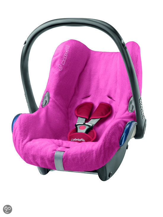 Maxi cosi cabriofix autostoelhoes pink baby for Housse maxi cosi cabriofix