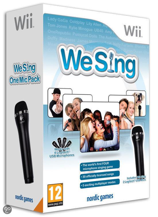 We Sing + 1 Microfoon