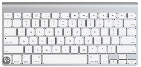 Apple MC184N/B Wireless Keyboard Qwerty