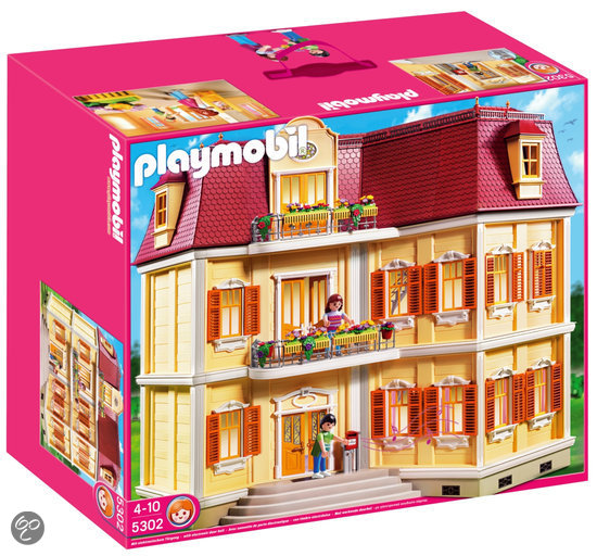 Playmobil groot woonhuis 5302 playmobil for Maison moderne playmobil carrefour