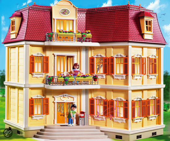 playmobil groot woonhuis 5302 playmobil speelgoed. Black Bedroom Furniture Sets. Home Design Ideas