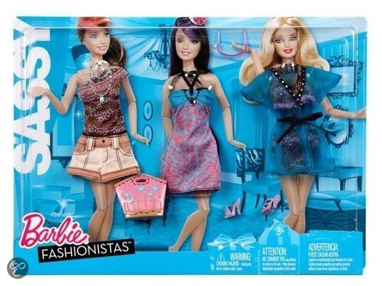BARBIE MOOISTE OUTFITS ASSORTIMENT in Rusven