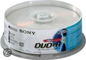 DVD+R 4.7GB 16X Bulk (25)