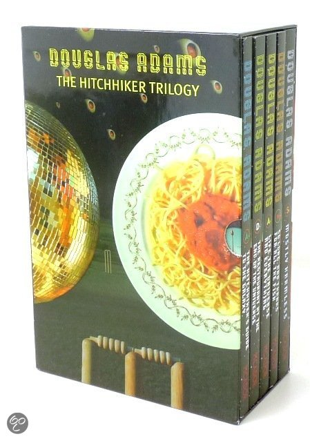 The Hitchhiker's Guide to the Galaxy boxset (1-5)