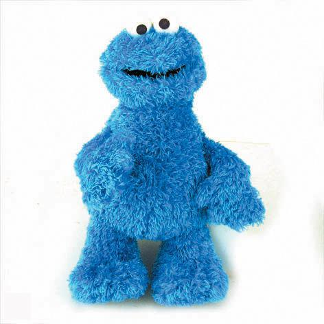 Sesamstraat Knuffel Koekie Monster '28 cm'