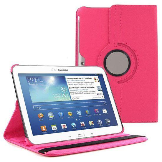 bol   samsung galaxy tab 3 10 1 tablet hoes cover 360