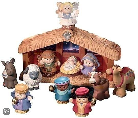 Fisher-Price Little People Kerststal