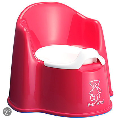 BabyBjörn Zetelpotje - Rood