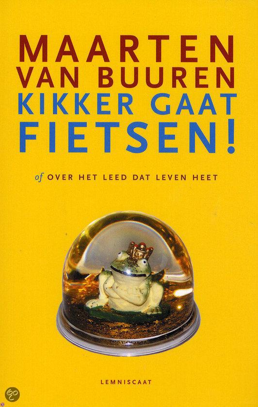 Kikker gaat fietsen!  ISBN:  9789047701231  –  Maarten van Buuren