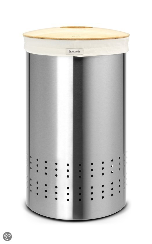 Brabantia Wasbox 50 l - Matt Steel Fingerprint Proof