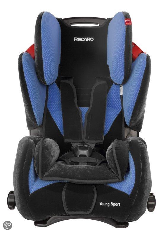 Recaro Young Sport Microfibre - Autostoel - Blauw
