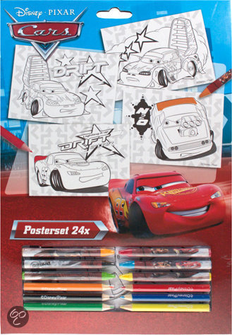 Cars Posterset