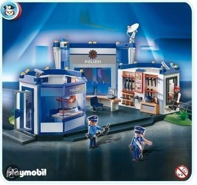 Playmobil politie bureau 4263 playmobil - Caserne de police playmobil ...