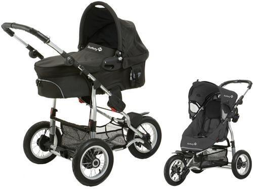 Safety 1st - Kinderwagen Ideal Sportiv - Black