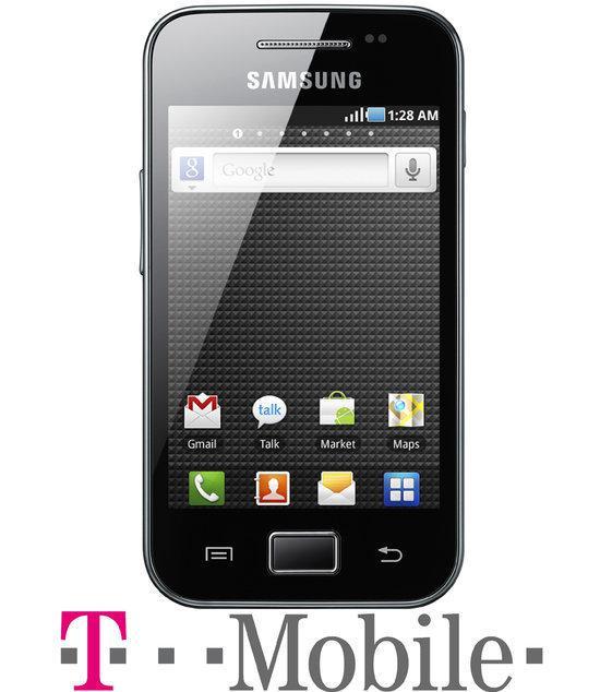 Samsung Galaxy Ace - Zwart - T-Mobile prepaid telefoon