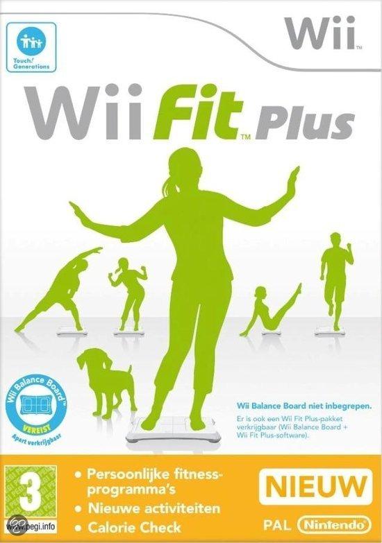 Wii Fit Plus + Balance Board Zwart