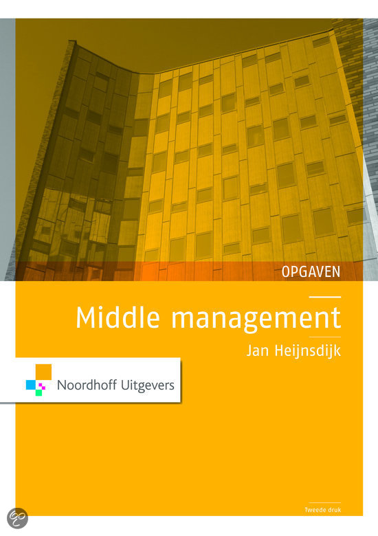 Middle management / deel Opgaven