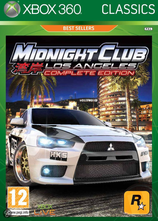 Midnight Club: Los Angeles Complete Version - Classics Edition