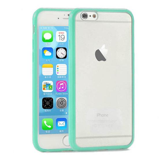 Case Design phone case shops : bol.com : Apple iPhone 6 Hoesje Bumper case met achterkant Mint Groen ...