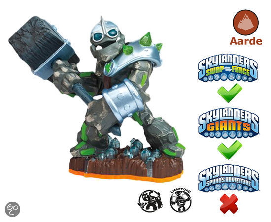 Skylanders Giants Chrusher - Giant Wii + PS3 + Xbox 360 + 3DS + Wii U