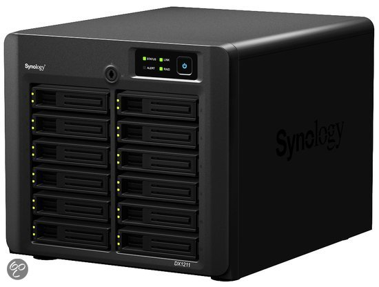 Synology DiskStation DX1211 - Uitbreidingseenheid