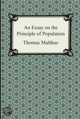 an essay on the principle of population thomas malthus