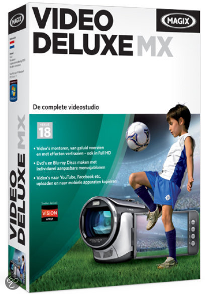 Magix Video Deluxe MX - Windows / Nederlands