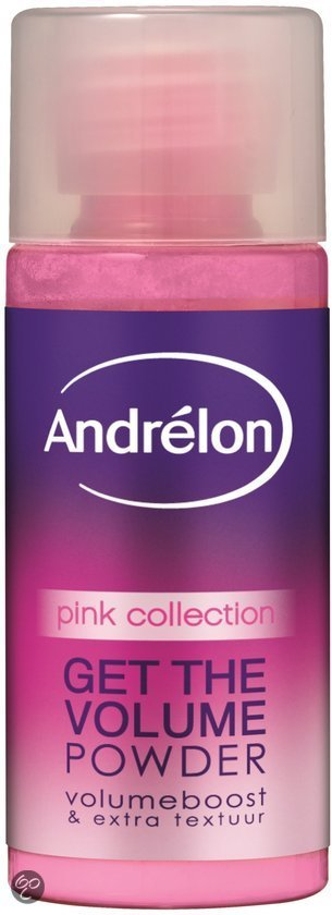 Andrelon Pink Get The Volume Powder - Volume Poeder