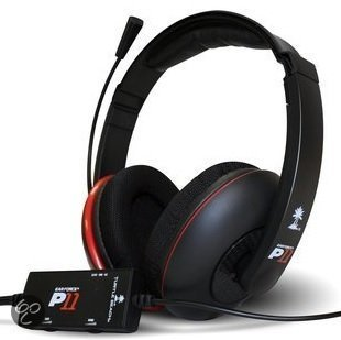 Turtle Beach P11 Gaming Headset Zwart PS3 + PC + Mac