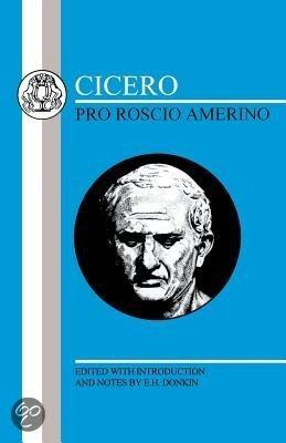a summary of pro roscio amerino a speech by marcus tullius cicero A timeline showing the main events in the life of marcus tullius cicero made speech pro roscio amerino on behalf of roscius of ameria cicero 106 bce – 43 bce.