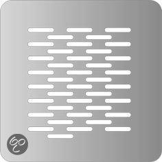 Plieger miro click rvs douche renovatie deksel 100 x 100 mm klussen - Uitzonderlijke badkamer ...