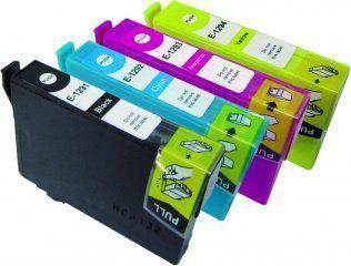 Merkloos - Inktcartridge / Alternatief voor de Epson T1295XL / Zwart / Geel / Magenta / Cyaan