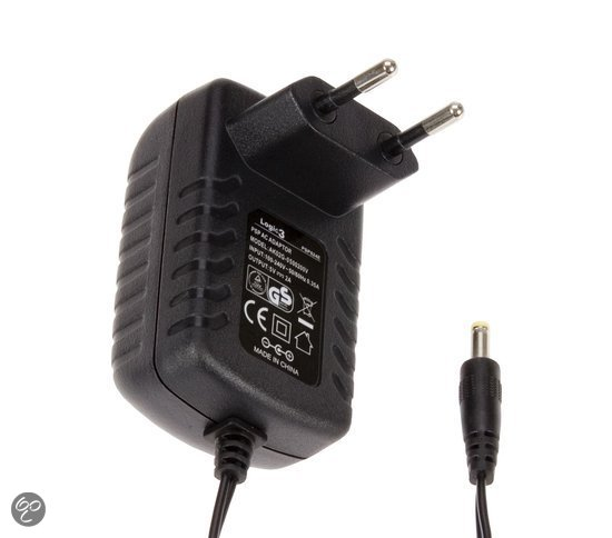Logic3 Thuislader Zwart PSP