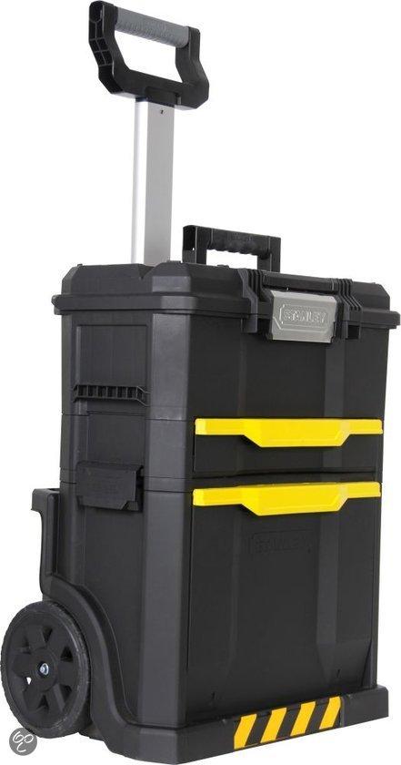 Stanley gereedschapswagen telescopische for Ladenblok gereedschap