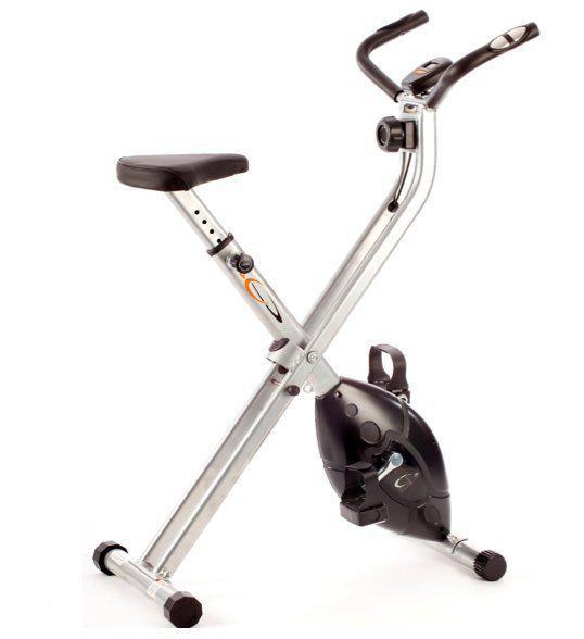 x frame fitness hometrainer inklapbaar. Black Bedroom Furniture Sets. Home Design Ideas