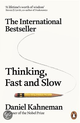 cover Thinking, fast and slow