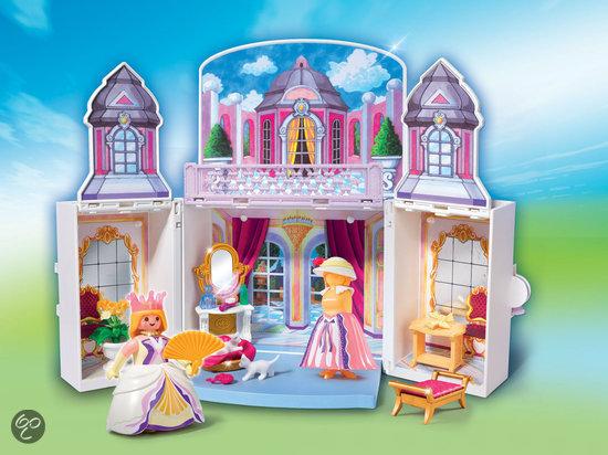 Prinsessen Slaapkamer : bol.com Playmobil Speelbox Prinsessenprieel ...