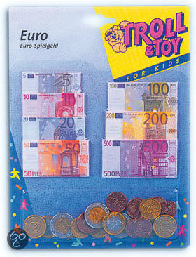 Toy Fun Eurocash Briefjes en Munten
