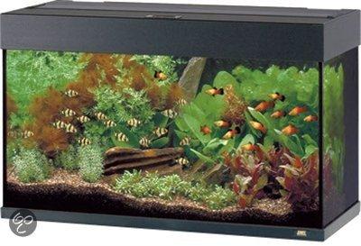 juwel rio aquarium 125 liter zwart. Black Bedroom Furniture Sets. Home Design Ideas