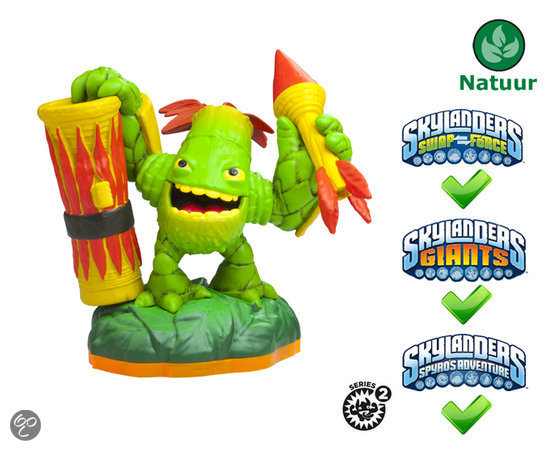Skylanders Giants Character Zook Wii + PS3 + Xbox 360 + 3DS + Wii U
