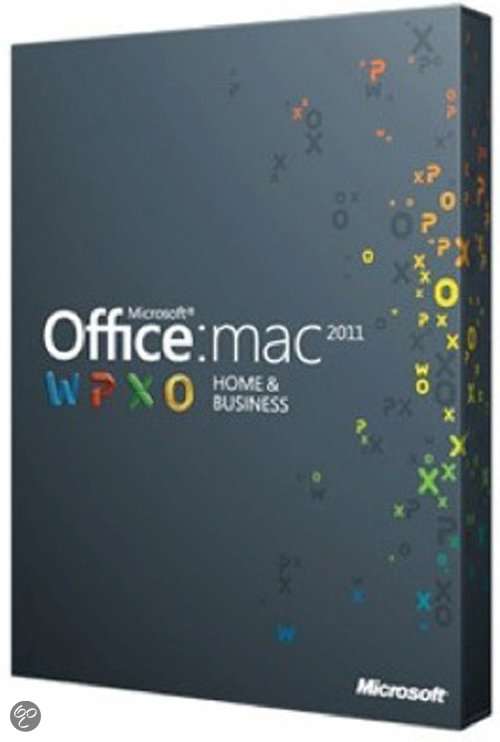 Microsoft Office Mac Home Business 2011 UK 1 PK